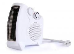 Portable Heat Glow Electric Room Heater Room Warmer Fan Heater white