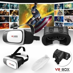 VR BOX VR Headset Virtual Reality VR BOX Goggles 3D Glasses white Normal Normal