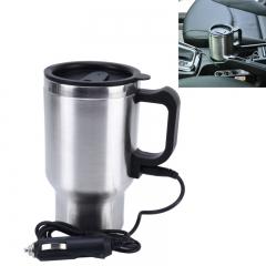 Stainless Steel Travel Coffee Mug Cup.Heated Thermos.Smart Mug 12V
