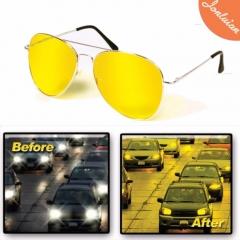 Night Vision Glasses Anti Glare Light Night Driving Glasses  Polarized Night Vision Driving Glasses yellow normal