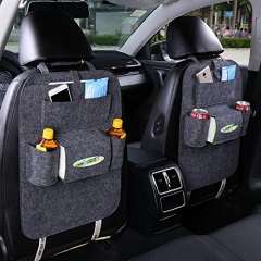 Multi-functional Felt fabric Car Back Seat Storage Collection Car Bag