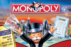 Monopoly Property Trading Game Family Board Game 2 to 8 Players White normal