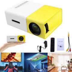High-Resolution Ultra-Portable 1080p LED Mini Projector HDMI USB Mini Projector Home Media Player