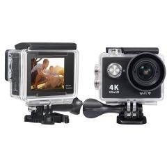 4K WIFI Sports Action Camera Ultra HD Waterproof DV Camcorder 12MP  LCD Screen Black Normal