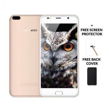 "LEAGOO M7, 5.5"" Screen ,8MP + 5MP Dual Camera, 16GB ROM + 1GB RAM, 3000mAh Battery Smartphone champagne gold"