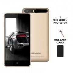 "LEAGOO P1 PRO, 5.0"" Screen, 8MP + 2MP, 2GB RAM + 16 GB ROM, 4000MAh Battery Smartphone champagne gold"