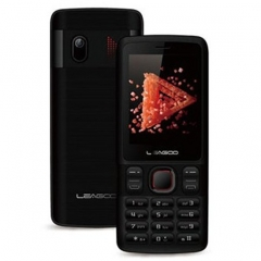 LEAGOO D2, DUAL SIM - 32MB + 32MB, - Electronic Touch Feature Phone black
