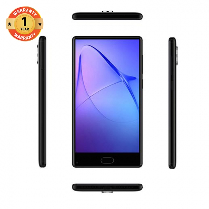 "LEAGOO KIICAA MIX,   5.5"" Screen, 32GB ROM + 3GBRAM, OV 13MP + 2MP Dual Rear Cameras, Smartphone Elegance Black"