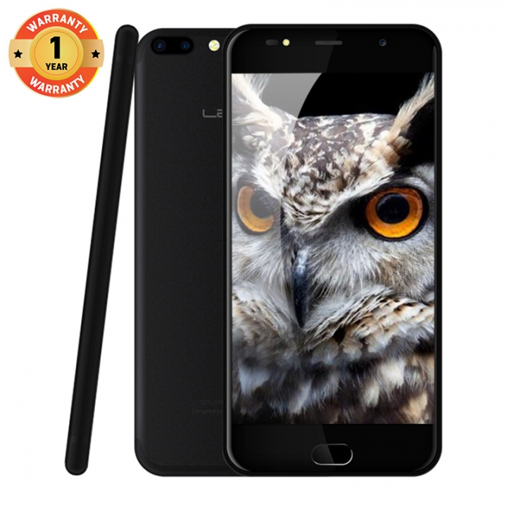 "LEAGOO M7, 5.5"" Screen ,8MP + 5MP Dual Camera, 16GB ROM + 1GB RAM, 3000mAh Battery, Smartphone Obsidian Black"