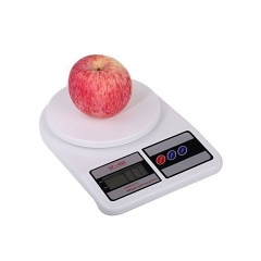 Electronic Kitchen Digital Weighing Scale, Multipurpose, white 10kg