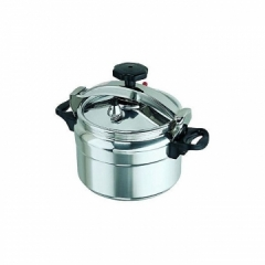 High Quality Aluminium Pressure Cooker silver 5 litres