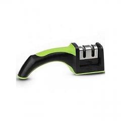 Manual kitchen Knife sharpener black & green onesize