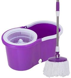 Good quality Magic Spin mop- 360 Degrees purple large