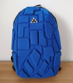 Block design antitheft tough laptop bag- Anti theft Blue