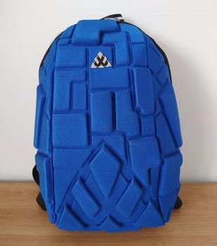 Block design antitheft tough laptop bag- Anti theft Blue