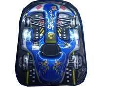 New Cartoon School Bags for Girls - Car cartoon kids bag multicolor