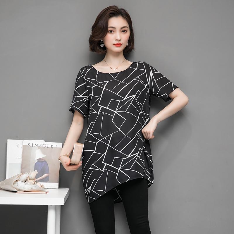 233783d235af33 Summer Fashion Chiffon Plus Size Women T-Shirt black l  Product No   1438522. Item specifics  Brand