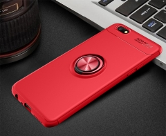 Ultra Slim silicon case Coque 360 rotation Ring Hide Stand Holder Cover red for oppo f5
