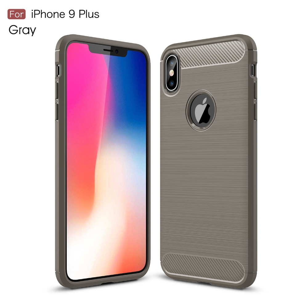 fashion carbon fiber case for iphone 5s 6s x 7 8 9 plus luxury ultrafiber texture with glossy accent design delivers a firm and natural grip for your device complete with large cut outs and tough outer shell, this case