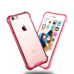 Axbety Shockproof PC Clear Crystal Case For iPhone 6s 7 8 Plus XS Max Hard PC Phone Cover C For 6 Plus 6s Plus