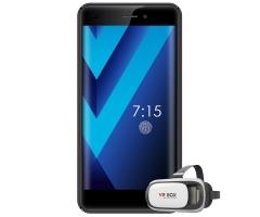 "CITYCALL LIFE PRO 7,  5.5"" Screen, 13MP + 5MP Camera, 16GB ROM + 1GB RAM, 2600mAh Battery + Free VR black"