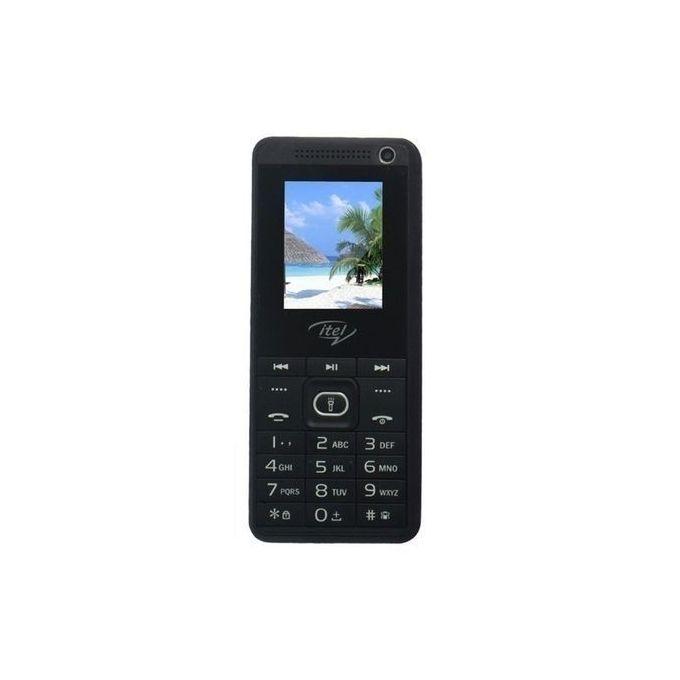 Itel 2180 - Dual SIM - Black black