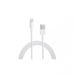Generic iPhone 5/6 USB charger cable - White white
