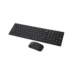 Generic Wireless Keyboard & Mouse Combo - Black black normal