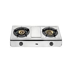 2 BURNER GAS COOKER grey normal