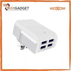 MOXON 4 PORTS  FAST  CHARGER white normal