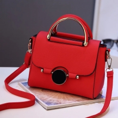WANYU FASHION bag Hot Sales Korean 2018 new women wristband bag shoulder crossbody bags Gift bag pure red one size