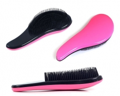 Hair Comb Beauty New Professional Detangle Brush Paddle Hair Beauty Healthy Styling Care rose pink F