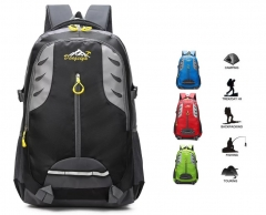 Travel Hiking Backpack Waterproof Outdoor climbing backpack Athnetic Sports Camping Rucksack Bag version2-green 35x23x55cm
