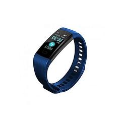 eneric Y5 Heart Rate Water Proof Smart Bracelet Watch - Blue BLUE ROUND