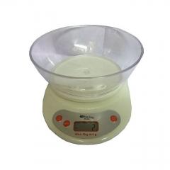 Digital Kitchen Scale 5kg Max - cream