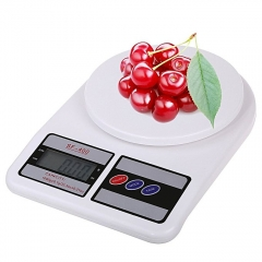 Electronic Kitchen Digital Weighing Scale, Multipurpose, White, 10 Kg white 1