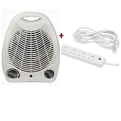 STERLING Room Heater + Free Power Cable white