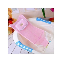 Baby and Infant Antiskid Bathtub Shower Seat Net Mesh for Kids Support pink pink 96*65cm