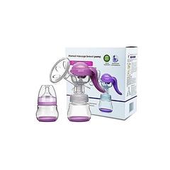 Generic Hygienic Healthy Manual Breast Pump clear 20 x 20 x 8