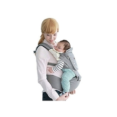 Generic Breathable Hipseat Baby Carrier - Grey grey -