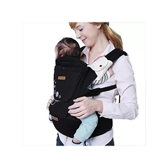 Generic Breathable Hipseat Baby Carrier - Black black -