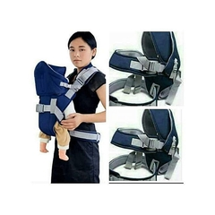 Comfortable Warm With a Hood Baby Carrier Blue -