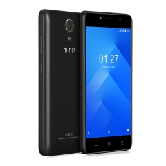 "m-net Power 1 5050mAh 5.0"" HD Android 7.0 1GB+8GB Quad Core Dural Camera Double Flash OTG Smartphone Black"