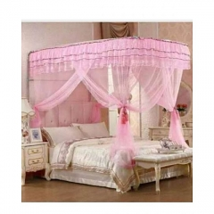 2stand mosquito net pink 6*6