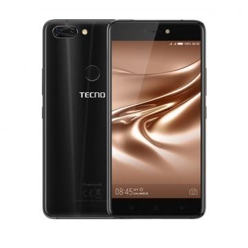 "TECNO Phantom 8, 12MP&13MP Dual-Rear + 20MP Front Camera, 6GB RAM +64GB ROM, 5.7"" Screen Smartphone Black"