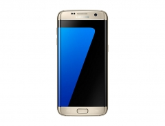 "Samsung Galaxy S7 Edge, 5.5"" Screen, single SIM,32GB ROM - 4GB RAM, 12MP Camera Smartphone Gold"