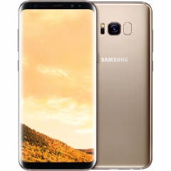 SAMSUNG Galaxy S8 Plus: 64GB ROM+4GB RAM, 3500mAh,12+8MP, 6.2Inch Smartphone gold