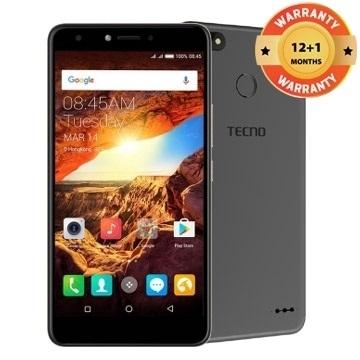 "TECNO Spark K7: 5.5"" Screen,16 ROM+1GB RAM, 13MP+5MP, 3000mAh Battery Smartphone phantom black"