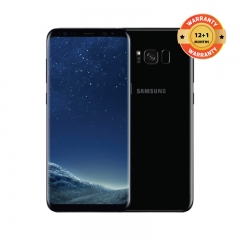 SAMSUNG Galaxy S8 Plus: 64GB ROM+4GB RAM, 3500mAh,12+8MP, 6.2Inch Smartphone black