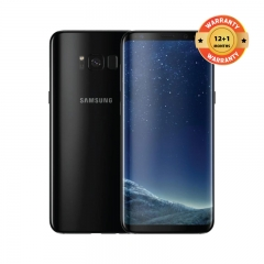 "SAMSUNG Galaxy S8: 64GB ROM + 4 GB RAM, 5.8"" Screen, 12MP + 8MP Camera Smartphone black"